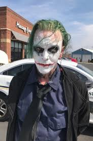 man in joker makeup charged with felony for u0027wearing mask u0027