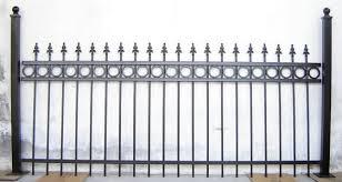 ornamental iron fence panels fences