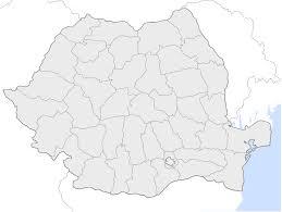 Romania Map Romania Counties Blank U2022 Mapsof Net