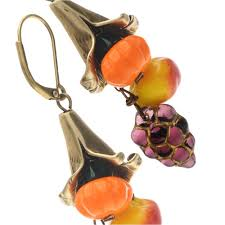 harvest cornucopia fall harvest cornucopia earrings beadaholique