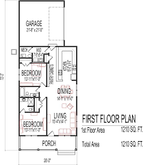 small house floor plans small low cost economical 2 bedroom 2 bath 1200 sq ft single story