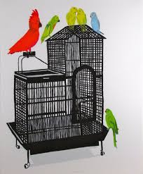 wood artwork for sale jonas wood bird cage xviii for sale artspace