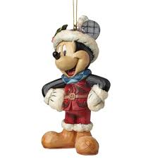 mickey mouse disney christmas hanging ornament