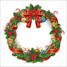 Holiday Wreath 42 826 Holiday Wreath Cliparts Stock Vector And Royalty Free