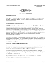 Sample Resume Job Descriptions by Job Description Of Pharmacy Technician For Resume Free Resume