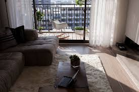 contemporary decor with warmth and comfort for staying balconies