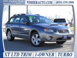 red subaru outback 2005 2005 subaru outback xt ltd blue 11 900 boulder denver