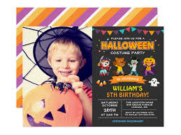 26 Kids Halloween Birthday Party Invitations Mimoprints