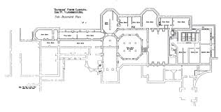 biltmore sub basement floor plan with lights labeled gilded era