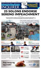 today u0027s paper august 31 2017 inquirer net