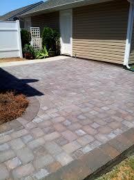 Patio Concrete Pavers by Brick Concrete Paver Patios U0026 Walkways Charlotte Pavers U0026 Stone