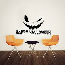 halloween wall stickers compare prices on happy face decals online shopping buy low price