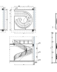 free spiral stair details free cad blocks u0026 drawings download center