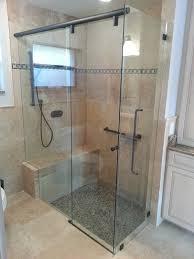 How To Install Sliding Shower Doors Sliding Shower Doors With Bench Sliding Shower Doors Need To Be
