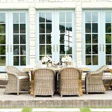 Wicker Dining Chairs Ikea Whicker Dining Chairs Trestle Outdoor Dining Table With Wicker