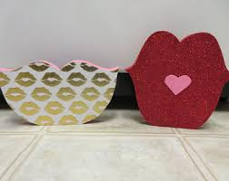 valentine decor etsy