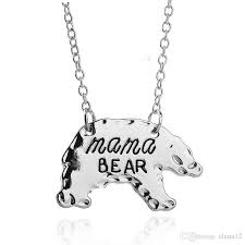 necklaces for mothers wholesale personalized polar necklace animal pendant