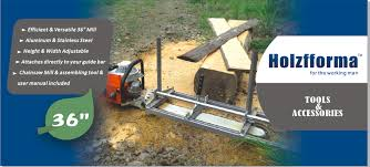 tools and accessories portable chainsaw mill