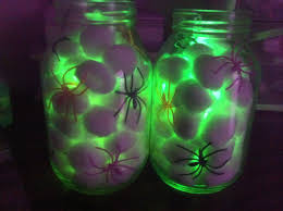 halloween baby food jar crafts easy halloween decorations all you need is some cotton balls