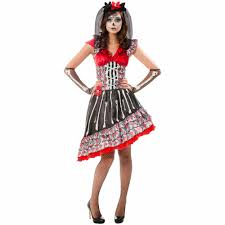 halloween costumes on sale for adults day of the dead dress up role play costume walmart com