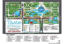 Chicago Ward Map Taste Of Chicago Map