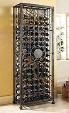 glass free standing wine racks u0026 bottle holders ebay
