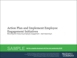 implement an action plan for employee engagement initiatives