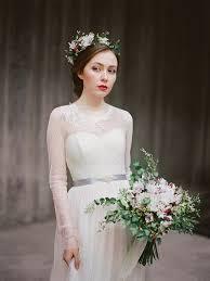 sleeved wedding dresses bohemian sleeved wedding dress agnia tulle