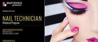 nail technician weekend program beauty schools of america
