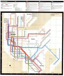 New York City Map Pdf Mapcarte 79 365 New York City Subway Map By Massimo Vignelli