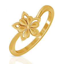 ring gold floral gold ring jacknjewel
