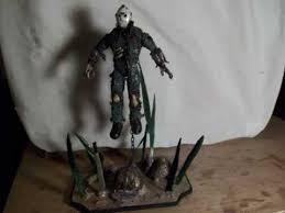 custom new blood jason voorhees figure uderwater base part 1
