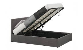 Grey Upholstered Ottoman Bed Upholstered Grey Ottoman Bed Frame