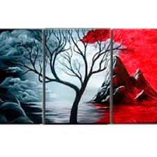 decor painting modern abstract painting wall decor landscape canvas wall art 3