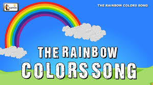 the rainbow colors song colors song 7 colours of rainbow