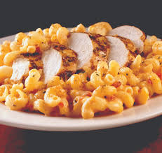 Five Cheese Marinara Sauce On Cavatappi Pasta With Chicken Meatballs - twisted mac chicken and cheese cavatappi macaroni tossed in a