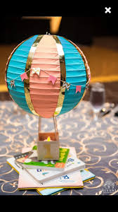 Up Decorations Air Balloon Decorations Up Up And Away Baby Shower