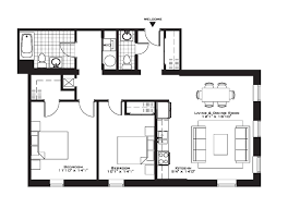 2 bedroom apartment building floor plans with three story condo s