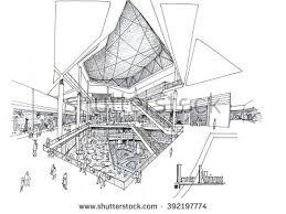 interior designatrium commercial administrative centeralt 2 stock