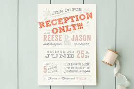 Post Wedding Invitations Reception Invitation Wording After Private Wedding Reduxsquad Com