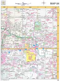Southeastern Usa Map by Warren U0027s 8 County Milwaukee U0026 Southeastern Wisconsin Street Locator