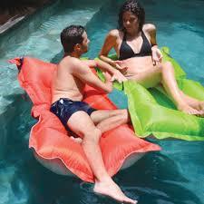 pool float kokido bean bag pool float floating beadz breez bean