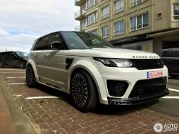 land rover sport price land rover mansory range rover sport svr 2 april 2016 autogespot