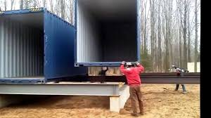 awesome shipping container home youtube