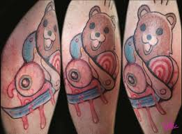 pedo bear tattoo by rickzor1983 on deviantart