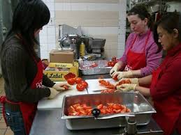 soup kitchen volunteer nyc bmcc news giving back hunger programs