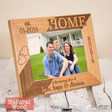 new home housewarming gift personalized new home frame new