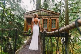 Treehouse Point Wa - a tree house in the forest luxe mountain weddings magazine