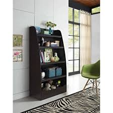 ameriwood home mia kids 4 shelf bookcase espresso walmart com