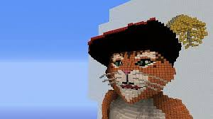 puss boots minecraft project